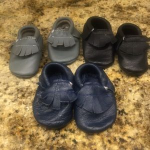 B&G Infant leather shoes, 3 pair